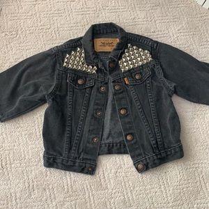 Vintage Toddler Levi's Studded Jacket
